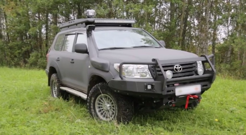 Тест-драйв Toyota Land Cruiser от Александра Морозова
