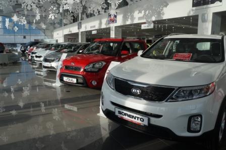 Купить автомобили Kia (Кия) в Москве в автосалоне