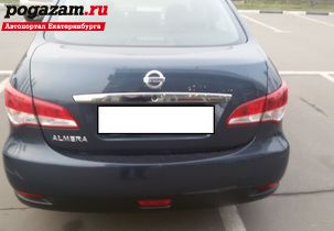 ������ Nissan Almera, 2015 ����