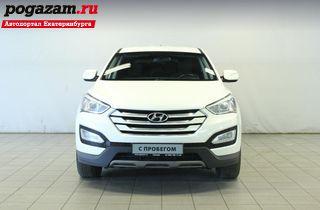 ������ Hyundai Santa F�, 2013 ����