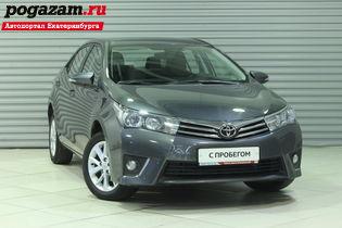 Купить Toyota Corolla, 2013 года