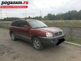 ������ Hyundai Santa F�, 2001 ����