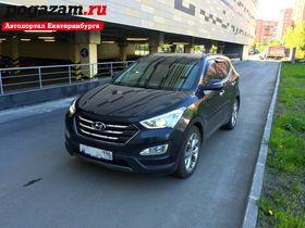 ������ Hyundai Santa F�, 2014 ����