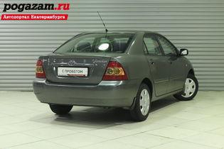 Купить Toyota Corolla, 2006 года