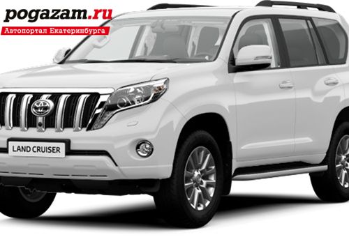 Купить Toyota Land Cruiser Prado, 2017 года