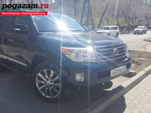 Купить Toyota Land Cruiser, 2014 года
